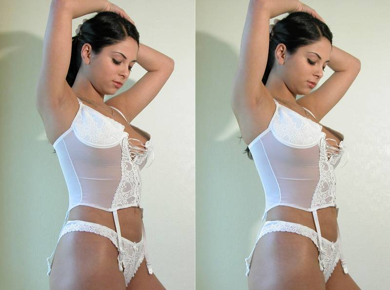Stereo by pics nude side side D